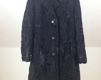 Vintage Luxury Karakul Coat