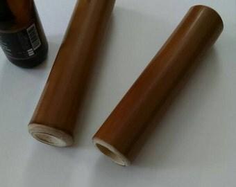 Bamboo Massage Sticks - Organic Bamboo- Swedish Stroke Massage - Massage Tool-Massage Roller- 2 piece set