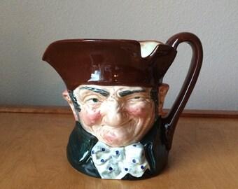 Old Charley Royal Doulton England Toby Mug - Large