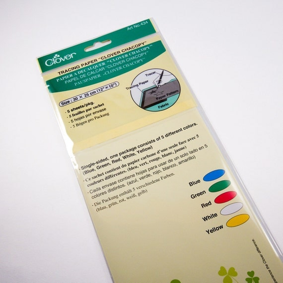 Clover Japan Chacopy Tracing Paper Sewing Transfer Paper