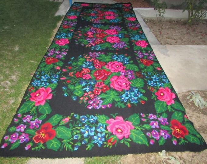Bessarabian Kilim. Vintage Moldovan Kilim,Floor Rugs Handmade 55 years old, handmade. Carpets, Eco-Friendly. ivan