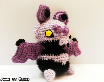 Crochet Noibat Inspired Chibi Pokemon