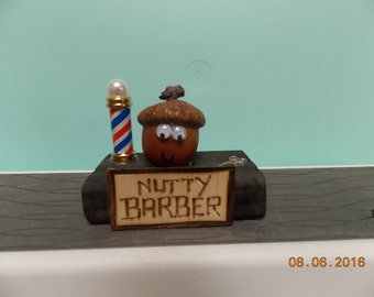 """Nutty Barber - What are you """"Nuts"""" about?"""
