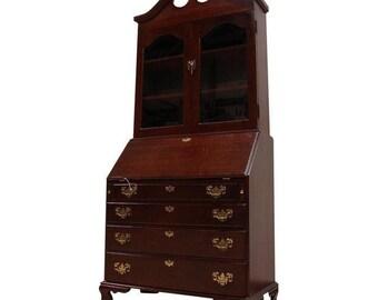 Vintage Handmade Cherry Secretary Desk