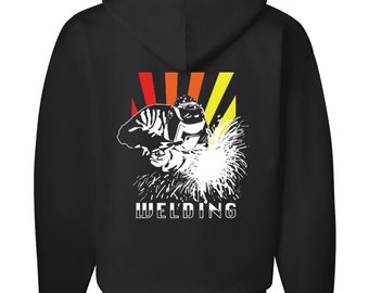 Welding Hoodie by Kiss a Cow