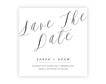 Complete Your Suite | Save The Date | Wedding Event Invitation Suite | Printable Digital File Printed Invite Invitations Stationery