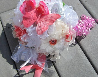 Wedding rehearsal bouquet