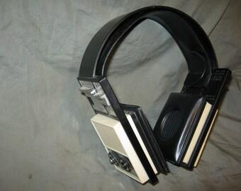 Vintage/Retro AM Radio Headset or Headphones 1970's? Triumph model no 80125