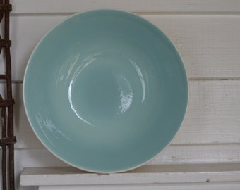 "ROBINS EGG Blue 8"" Serving Bowl ~ USA"