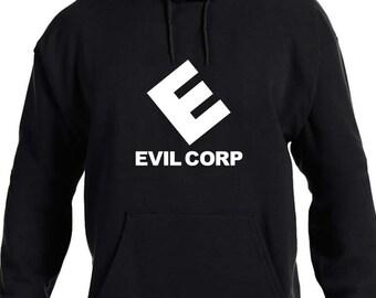 Evil Corp Logo Hoodie, Mr Robot