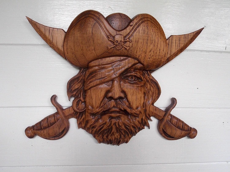 Pirate Sword Pirate Hat Pirate Decor Wooden Halloween