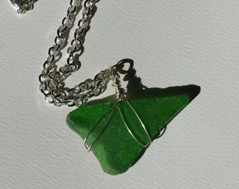 Green River Glass Pendent Necklace