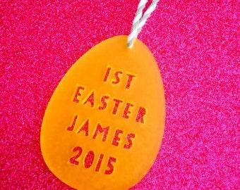 Personalised Acrylic Easter Hanging Decoration