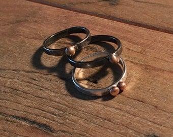 Casting grain ring