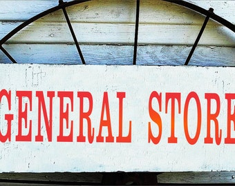 General Store Signs Etsy