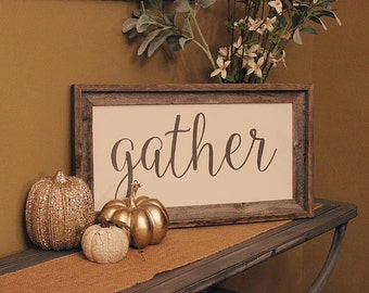 Gather **REUSABLE STENCIL**- Font Baller design- 8 sizes- Create your own Cottage Signs and Cottage Pillows!
