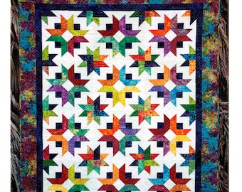 "DAYBREAK    Quilt Pattern For 2-1/2"" Strips - By: Cozy Quilt Designs"