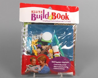 "Kids Crafts Klutz Books  Build a Book Kit 7"" by 7"" book project"