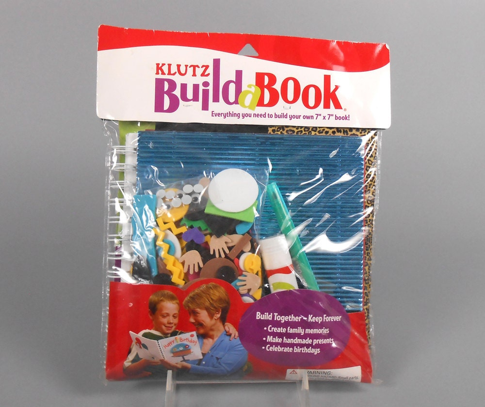 How To Make A Book Kit : Kids crafts klutz books build a book kit by