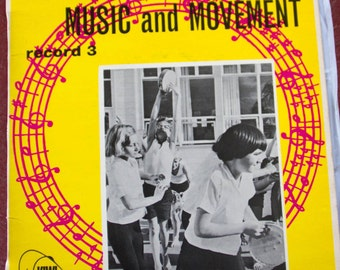 Music and Movement. Record 3. Record LP