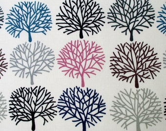Fabric, A Ghastlie Orchard, Tinted Multi Trees, Alexander Henry,  Last 30 Inches