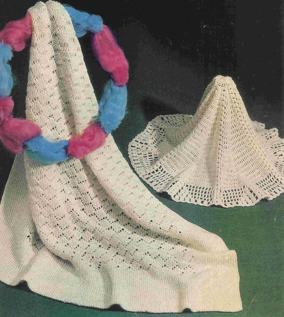 Items similar to baby shawls vintage knitting and crochet ...