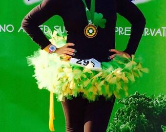 Green and Gold Tutu, St. Patrick Day Tutu, Roller Derby Tutu, Birthday Tutu, Punk Rock Tutu