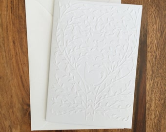 Christmas card, Christmas Card Pack, Pack of 10 Christmas Cards, Embossed Cards, Holiday Cards, Xmas Cards