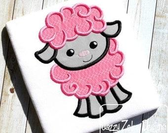 Lamb / Sheep Applique Design