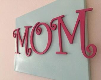 MOM wall decor
