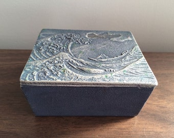 The Great Wave of Kanagawa Hokusai Aluminum Box