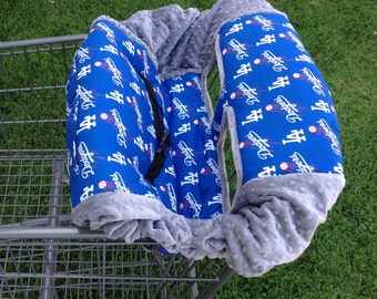Shopping Cart Cover- LA Dodgers
