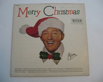 Bing Crosby - 1955 Original First Release - Merry Christmas