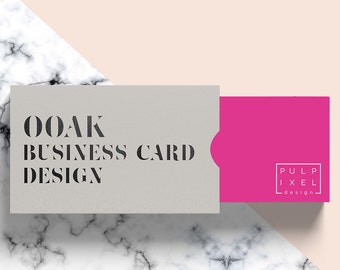 OOAK Business Cards // Do you need a unique business card design for your brand?