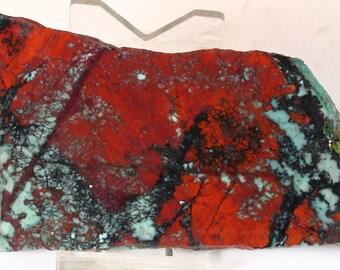 Gorgeous Sonora Sunrise Sunset Chrysocolla Cuprite Chalcocite Tenorite Slab