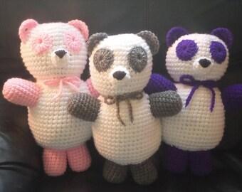 Panda Bear Stuffed Plushie Toy