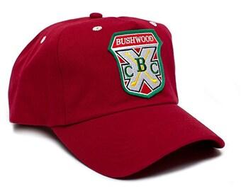 New Bushwood Hat Country Club Caddyshack Movie One Size Baseball Cap Red