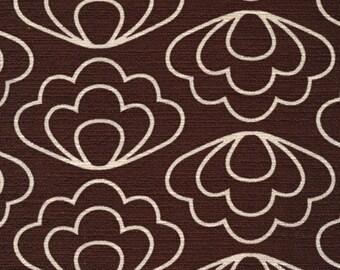 Cloud9 fabric - time warp - ripple - Brown