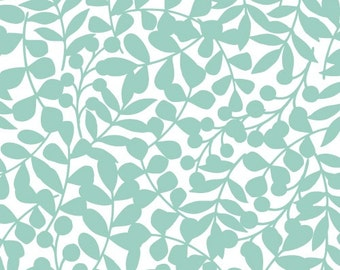 Cloud9 fabric first light - branch turquoise