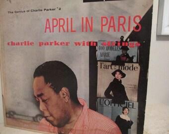 April In Paris  by Charlie Parker  (LP)