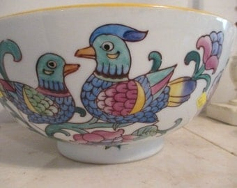 Chinese Bird Bowl