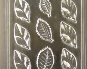 Leaves chocolate mold