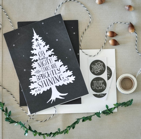 Boxed Christmas Cards, Merry Christmas, Christmas Cards, Christmas Tree, Christmas Decoration, Christmas Deer, Christmas Art, Chalkboard Art