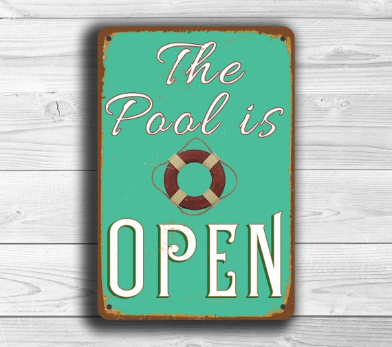Swimming Pool Plaques Signs Wall Decor: POOL SIGN Pool Signs Pool Swimming Pool Swimming Pool
