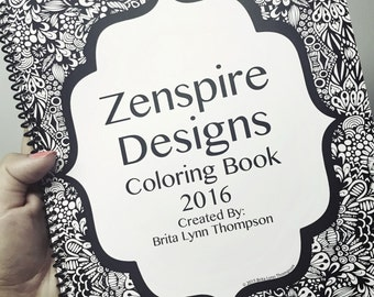 Zenspire Designs Coloring Book