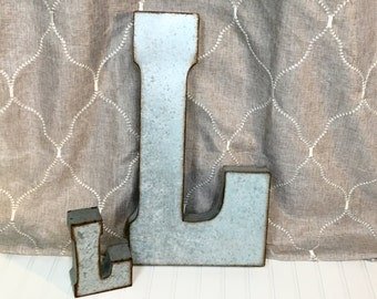 Large Metal Letters For Wall large metal letter g/ metal letter/galvanized metal wall