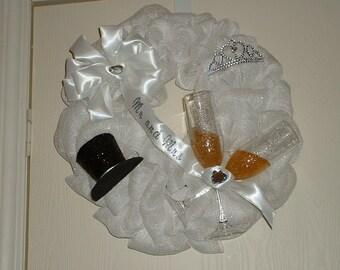 Hand Crafted Wedding/Anniversary Wreath