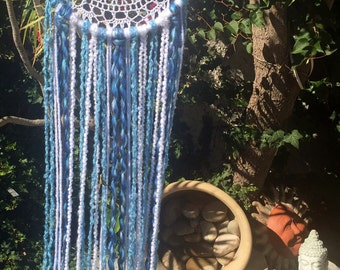 Sea inspired dreamcatcher