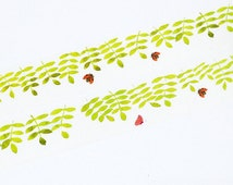 Spring Washi Tape -- Japanese Washi Tape -Deco tape--25mm x7M