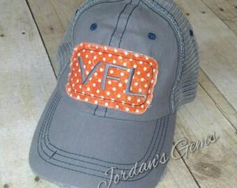 University of Tennessee Volunteers Distressed Mesh Back Trucker Hat